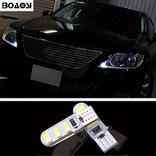 BOAOSI 1x T10 W5W 5630SMD Error Free Samsung LED Canbus For lexus rx300 rx330 rx350 is200 is250 lx570 lx470 gs300 gx47 ES350