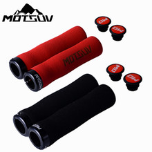 Bicycle Grips Ergonomic MTB Handlebar Grips Folding Bicycle High Density Handlebars Sponge Grips For Mountain Bike Can Be Locked