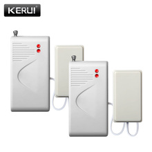 2 pcs/lot Wireless Water Intrusion Leakage Sensor Detector Water Leak Detector 433MHz For WIFI W2 G19 G90B G90E gsm Alarm System