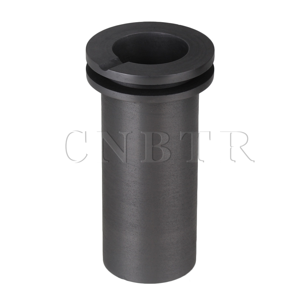 CNBTR High Temperature Resistance 1KG OD 1.96in Resistance Bicyclic Graphite Crucible<br><br>Aliexpress