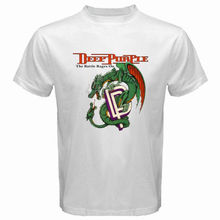 100% Cotton Brand Clothing T Shirt High Quality Personality New Deep Purple Classic Rock Band Legend Logo T Shirts