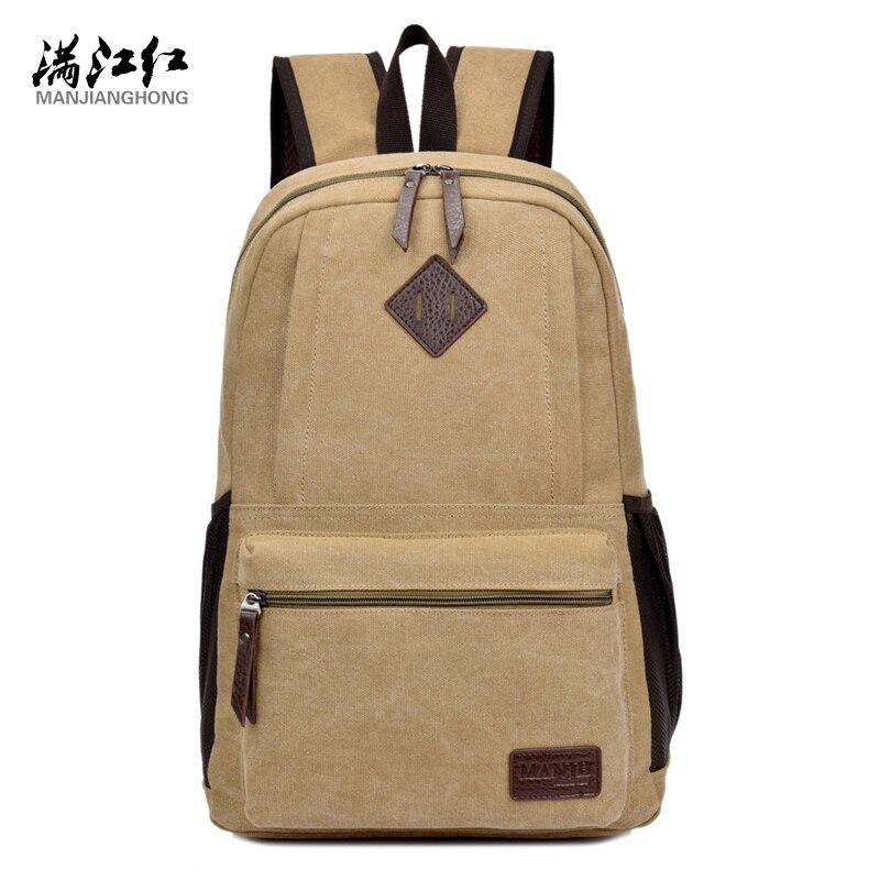MANJIANGHONG new fashionable design canvas backpack mens travel bag big capacity causal backpack  book bag laptop backpack<br><br>Aliexpress