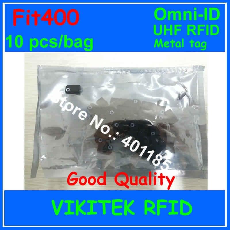 Omni-ID Fit 400 UHF RFID  metal tag 10 pcs per bag 915M EPC C1G2 ISO18000-6C Fit400 metal hand tools Metal IT assets tracking<br>