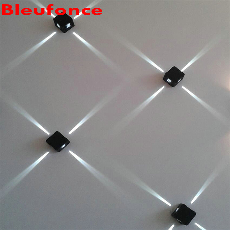 2pcs 3w LED Cross Star Lamp Spot Light Square Facades Lighting Night lighting engineering Outdoor IP65 Waterproof  NB27<br><br>Aliexpress