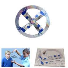 Wholesale Classic Toys Magic Floating & Rotating UFO Toy  Flying Saucer Magic Trick Disk Mystery Floating UFO 15CM