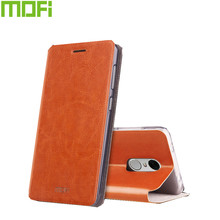 Mofi Case For xiaomi redmi note 4X Case Book Flip Style High Quality Mobile Phone Case For Xiaomi redmi note 4 global version(China)