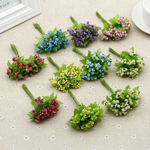 News 12pcs/Lot Star Tassel Handmake Artificial Flower DIY Corsage,Wedding Party Decorations,Wreath for Hair,Garland Ornaments
