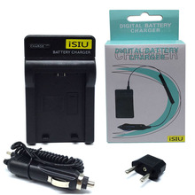 iSIU NP 45 NP45 FNP45 NP-45 Battery Charger & Car Adapter For Fujifilm Fuji Z10 Z20 Z30 J10 J15 J20 J110W J150w J250