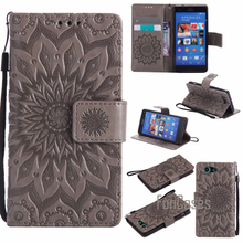 "Buy Luxury Flower Embossed Case sFor fundas Sony Xperia Z3 Compact Case D5803 D5833 sFor coque Sony Z3 Compact Case 4.6"" Experi for $5.30 in AliExpress store"