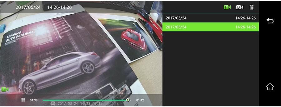 "Junsun 8"" 4G Special Mirror Car DVR Camera Android 5.1 with GPS DVRs Automobile Video Recorder Rearview Mirror Camera Dash Cam 37"