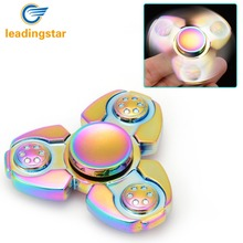 Buy LeadingStar Dazzling Hand Spinning Toy EDC Metal Fidget Spinner Stress Anxiety Reducer Autism ADHD Relief Focus Anxiety for $6.99 in AliExpress store
