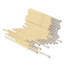 100Pcs in a Pack P100-E2 Dia 1.36mm Length 33.3mm 180g Spring Test Probe Pogo Pin Tool Wholesale