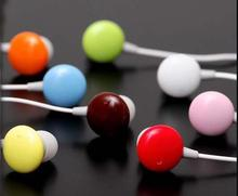 500pcs Chocolate Candy Earphone 3.5mm interface in-ear mini cute earphone for mp3 player mobile phone