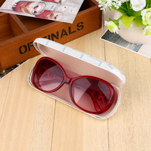 Protable Hard Eye Glasses Colorful Silver Yellow Black Sunglasses Hard Case Eyewear Protector Box Pouch Bag Accessories