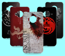Ice and Fire Cover Relief Shell For HTC 10 one M9 Plus M9E M10 Cool Game of Thrones Phone Cases For HTC One ME M9e