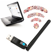 Mini Wireless USB WiFi Network Card LAN Adapter Dongle USB Ethernet Transmission Rate 10/100/1000Mbps for PC Laptop