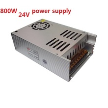 New Model ac-dc Power Supply 24V 33A 800W PSU AC DC Converter 220v 110V LED Driver DC24V Switching Power Supply For Led Light(China)