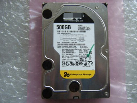 WD5002ABYS 500GB SATA 7200rpm 3.5 Desktop hard drive HDD  Original 95%New Well Tested Working One Year Warranty<br><br>Aliexpress