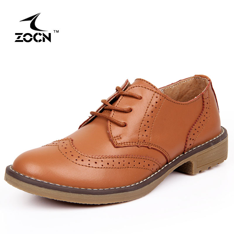 ZOCN oxford shoes for women Genuine Leather Shoes woman High Quality Fashion Moccasins slip on shoes for women Casual Footwear<br><br>Aliexpress