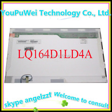 Free shipping 16.4'' for sharp lcd matrix LQ164D1LD4A laptop lcd replacement screen panel display 1600*900 ccfl 30pin