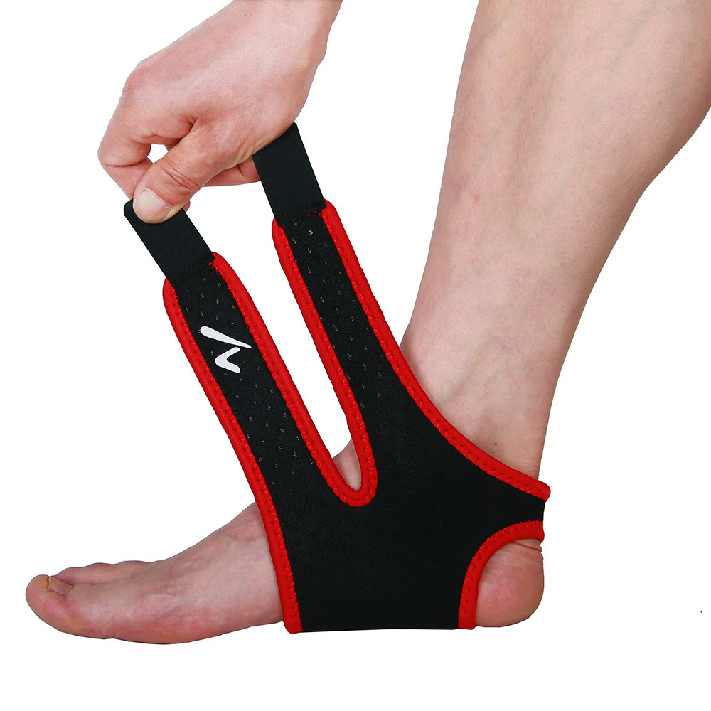 Taekwondo Foot Protector sports Elastic Wrap Ankle Brace Support Kick Boxing Protector Gym Compression Foot Sleeve(China (Mainland))