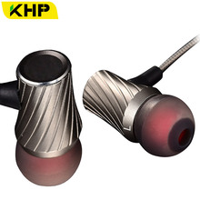 Hot KHP 3.5mm Metal In-Ear Earphone For iPhone 4 4S 5 6 7 Plus Samsung Sony LG Mp3 PC Game Earphones