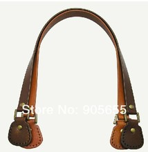 Free shipping  Genuine Leather Bag Handle. DIY handmade handbag accessories Handle/Blet/strap Leather