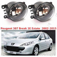 For PEUGEOT 307 Break (3E)2002+2010year Front bumper light Original Fog Lights lamp Halogen car styling .1SET.OEM620639-6206E1