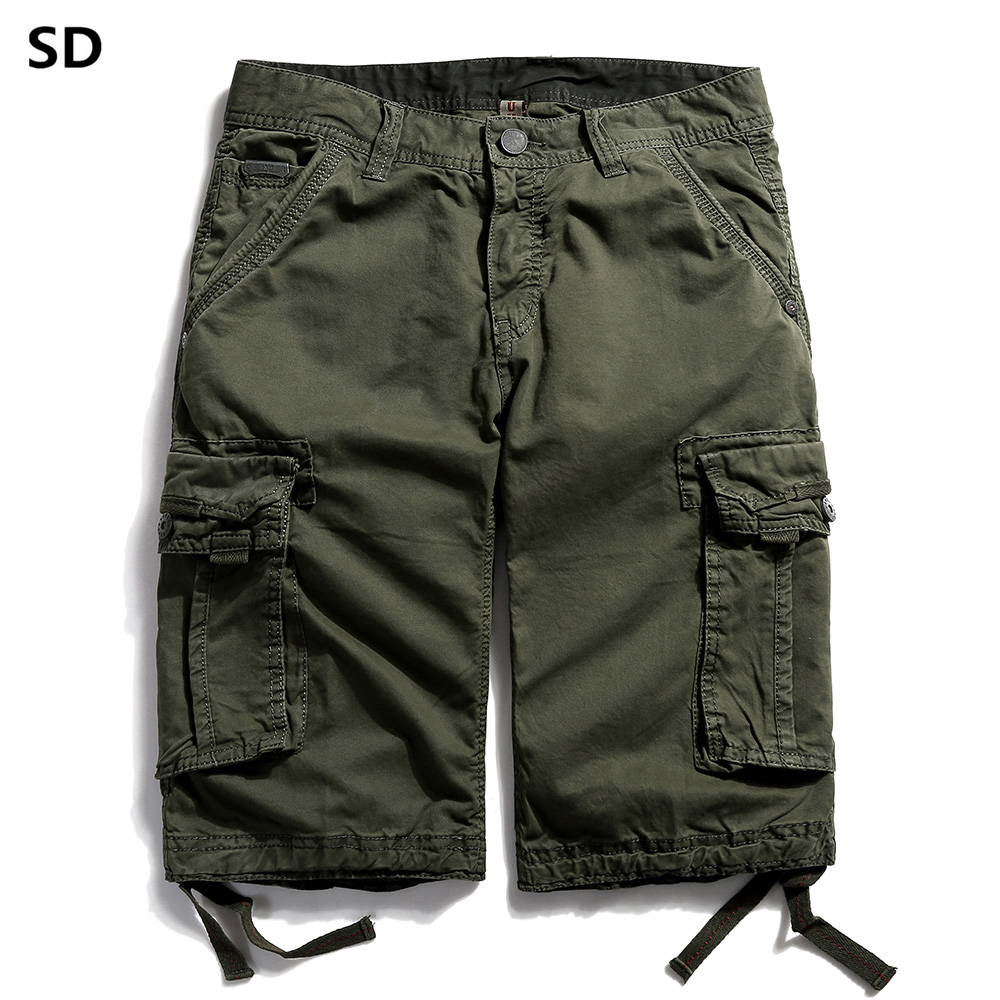 SD Brand Cargo Shorts Mens 2019 New Summer Shorts Men Cotton Men Casual Plus Size Comfortable Fashion Brand Short Masculina 56