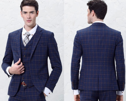 Mens Checkered Suits | My Dress Tip