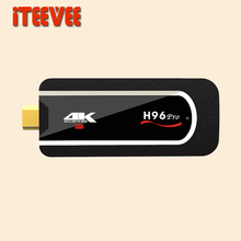 1PC H96 Pro mini pc Android 7.1 Smart TV dongle Amlogic S912 Octa Core 2G 8G 16G H.265 KODI 4K small Media Player(China)