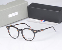 New York Brand THOM round Eyeglasses Frames men women TB404 glasses Prescriptio Glasses Computer Optical round Frames with box(China)