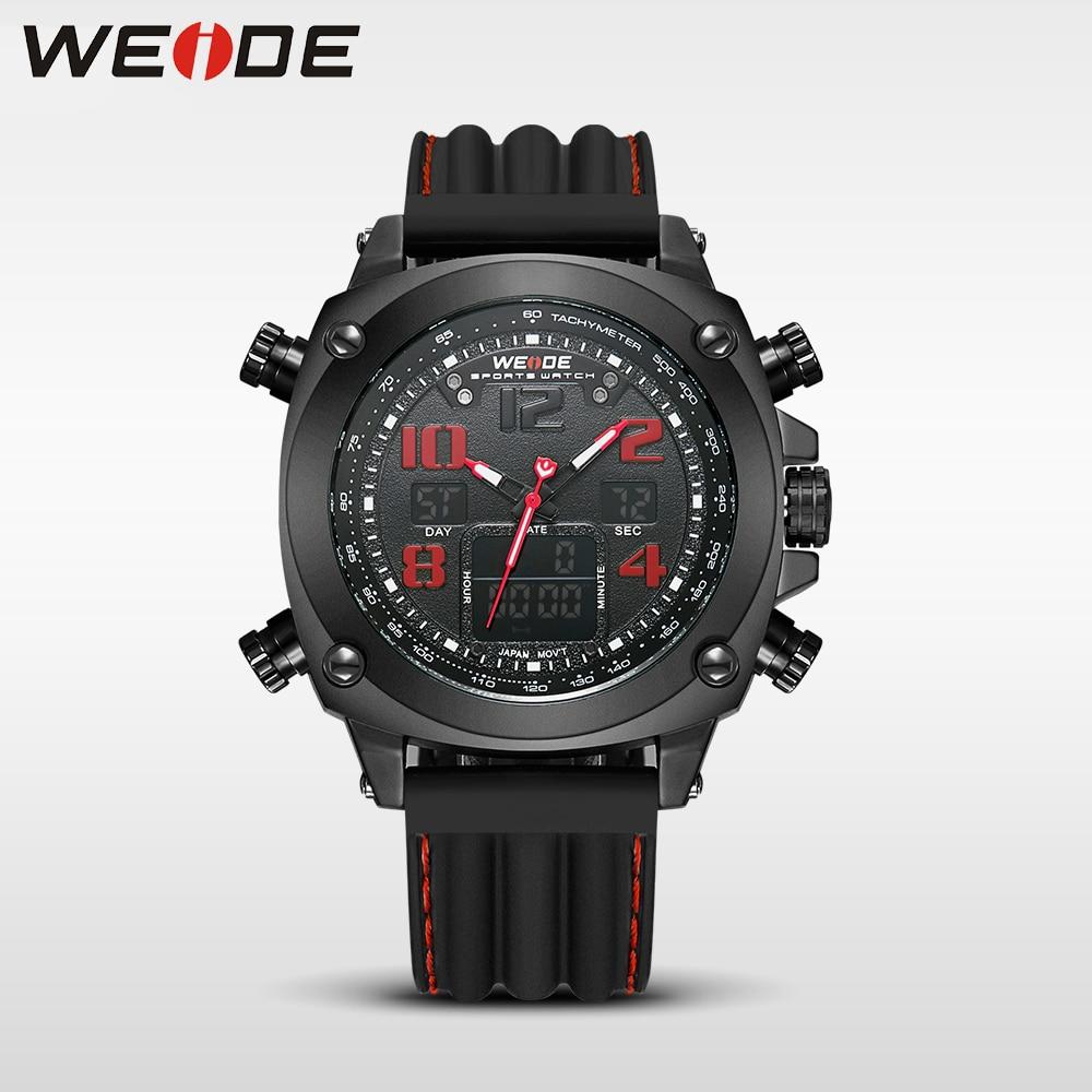 WEIDE  genuine top brand luxury sport watch Multiple Time Zone relogio masculino esportivo  relogio masculino digital  watch box<br>