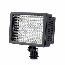 160 LED Video Camera HD Light Lamp 12W 1280LM 5600K/3200K Dimmable for Canon for Nikon for Pentax Camera Video Camcorder(China)