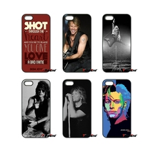For iPod Touch iPhone 4 4S 5 5S 5C SE 6 6S 7 Plus Samung Galaxy A3 A5 J3 J5 J7 2016 2017 Jon Bon Jovi Signed Rock Band Case(China)