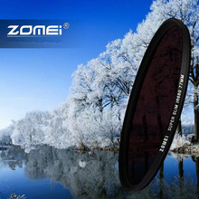 Zomei Glass Infrared 680 720 nm IR filter 37/49/52/55/58/62/67/72/77mm for Canon Nikon Sony Pentax Hoya lens(China)