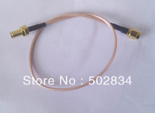 10pcs/lot 100cm RF Pigtail RG316 SMA male plug to RP-SMA male plug Coax Jumper Cable(China)