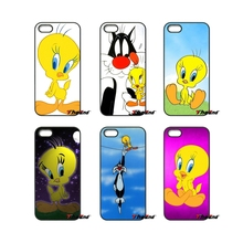 For Xiaomi Redmi Note 2 3 3S 4 Pro Mi3 Mi4i Mi4C Mi5S MAX iPod Touch 4 5 6 Bug Bunny Tweety Bird Loony Tunes Phone Cover Case(China)