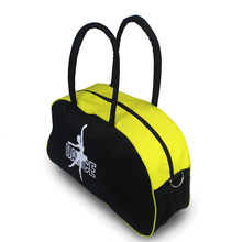 Women Girls Ballet Bag Black Yellow Canvas Big Tote Adult Yoga Dance Bags Ballerina Ballet Dance Costume Hand Bag(China)