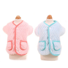 Buy Cute winter warm dog puppy coat jacket small dog pet cat hoodie shirt clothing soft fleece chihuahua Yorkshire dog clothes for $6.89 in AliExpress store