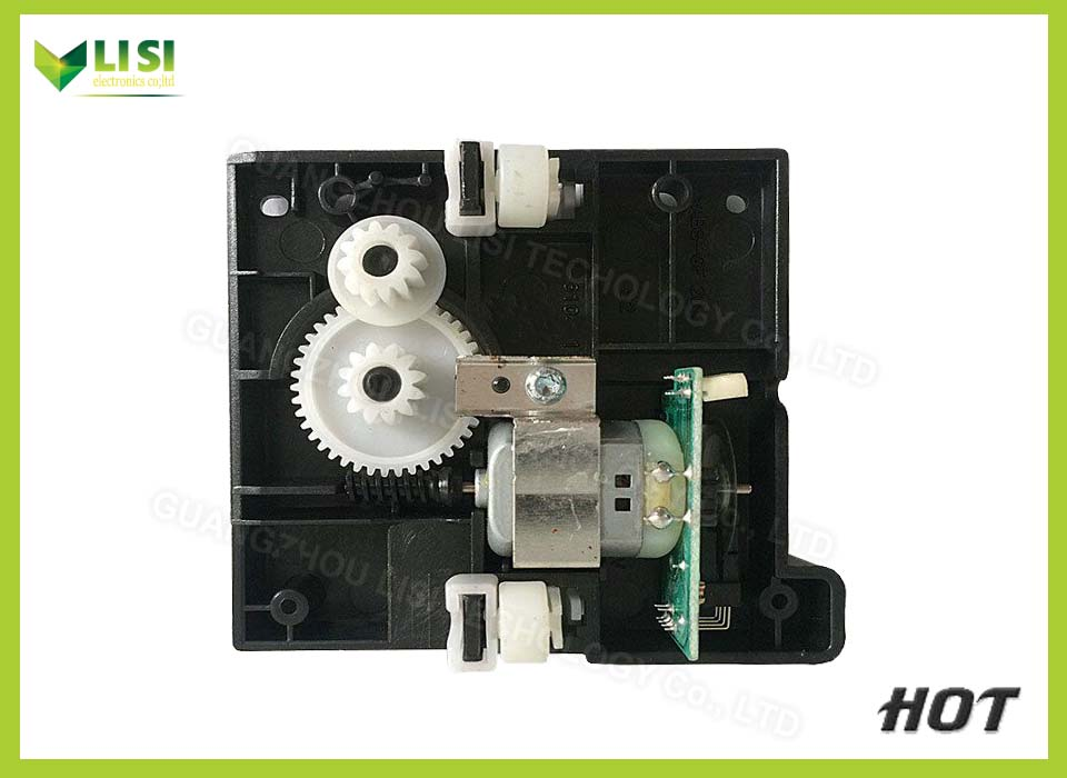 Second-Hand For HP M1005 M1120 1005 1120 Drive Motor With Gear Printer Parts<br><br>Aliexpress