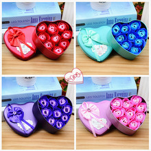 1Pcs Hot Creative Gifts Gift Box Valentine 's Day Soap Roses DIY New