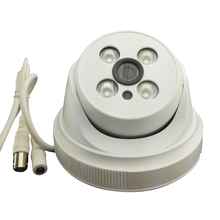 AHD HD 960P 1.3MP Video Camera White Plastic Dome Camera CCTV security Indoor 4IR Night Vision