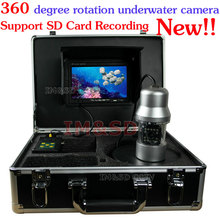 7 inch TFT LCD 50M Cable 360 Degree Rotate 1/3 SONY CCD 700TVL Underwater White LED Fishing Camera Surveillance DVR System