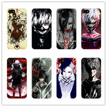 Japan comic Tokyo Ghoul hard cover case For Samsung Galaxy S6 S7 edge S5 S4 S3 plastic case for iphone 4s 5c 5 5s SE 6 6s 7 plus