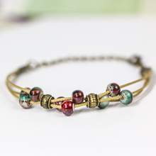 Hand made small pure  fresh women's ceramic creative DIY bracelet small adorn article bracelets for women female gift #DS2208