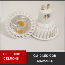MR16 GU10 GU5.3 Ampoule LED 6W LED Downlight COB Dimmable Lampe Spot Lights warm white / cold white(China)