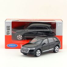 Free Shipping/WELLY Toy/Diecast Model/1:36 Scale/Audi Q7 SUV Super/Pull Back Car/Educational Collection/Gift For Children(China)