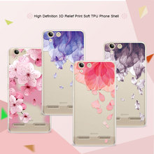 Buy 3D Relief Phone Case Lenovo Vibe K5 5.0 inch Floral Cartoon Lace Soft TPU Back Cover Cases Lenovo K5 Plus Coque Funda for $1.43 in AliExpress store