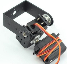 2 DOF Servo Bracket Mount kit with 2pcs 180 degree high torque all metal gear servo for robot arm, DIY, study project